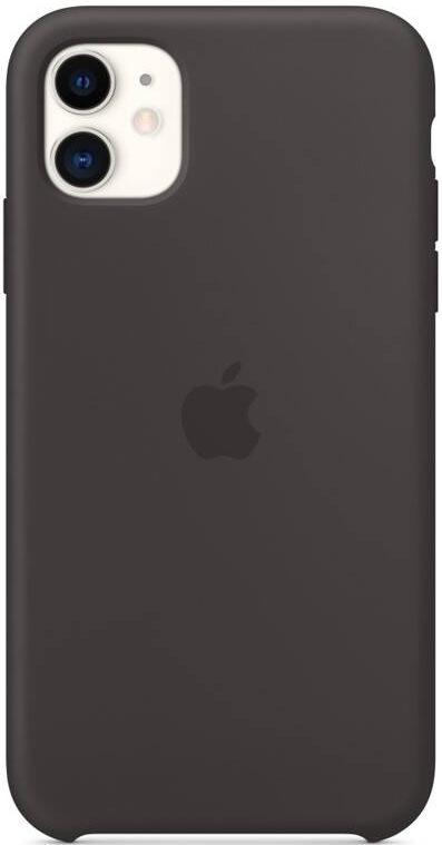Apple Silicone Case pro iPhone 11, černá