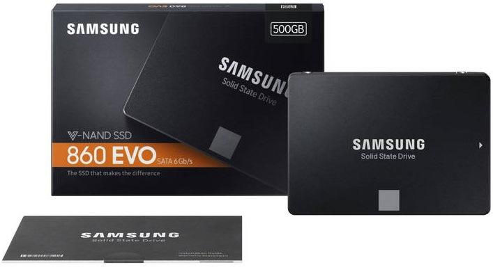 SSD Samsung EVO 860 500GB