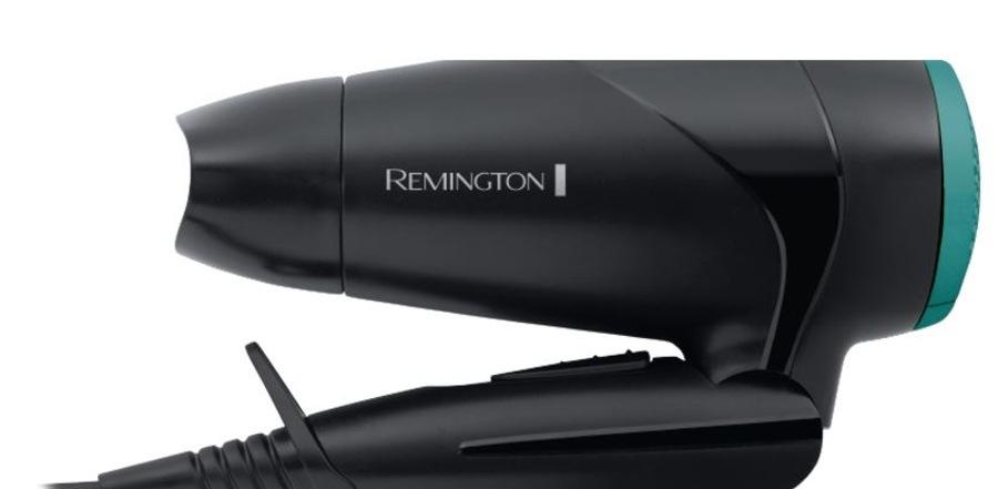 Remington D1500 E51 Compact Dryer 2000 On The Go, černá