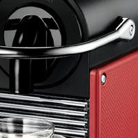 DeLonghi Nespresso Pixie EN125.R, červená/černá