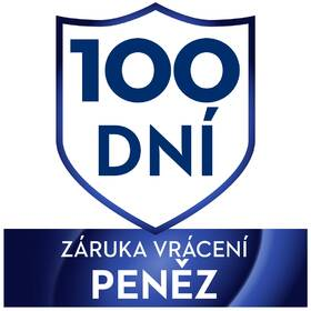 100 dní - Záruka vrácení peněz