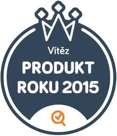 Ocenění výrobku - produkt roku 2015
