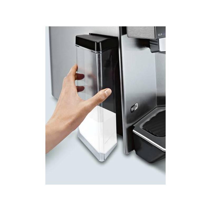 espresso siemens eq 9 connect ti909701hc nerez. Black Bedroom Furniture Sets. Home Design Ideas