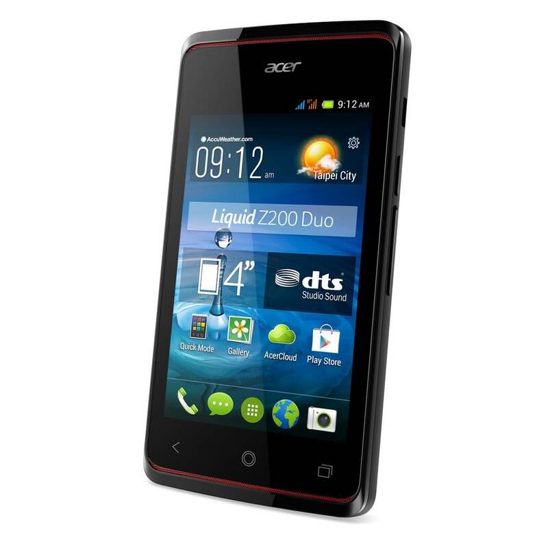 Mobilní telefon Acer Liquid Z200 Dual Sim (HM.HFEEG.004) černý ... 4b37c2f2bf7