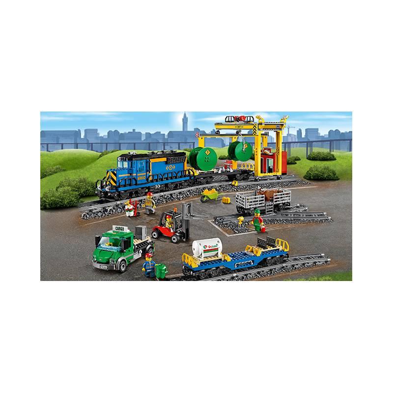 Zestawy Lego City City 60052 Pociąg Towarowy Eukasapl