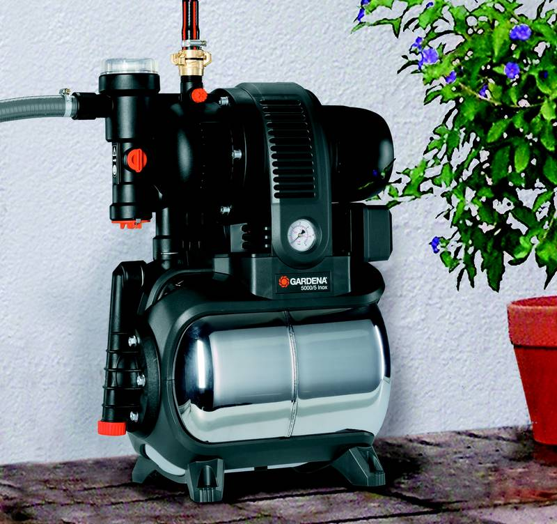 vod rna gardena 5000 5 inox premium. Black Bedroom Furniture Sets. Home Design Ideas