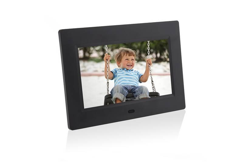 Obrázok Elektronický fotorámček Hyundai LF 1030 MULTI čierny + Doprava zadarmo