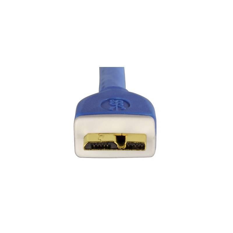 Obrázok Hama 39682 Micro USB 3.0 Connecting Cable, A plug - micro B plug, 1.80 m, blue
