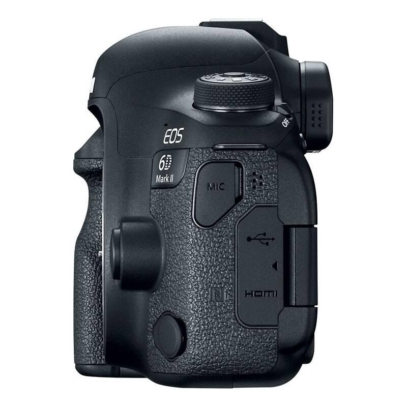 57617eea1 Digitálny fotoaparát Canon EOS 6D Mark II telo (1897C003) čierny ...