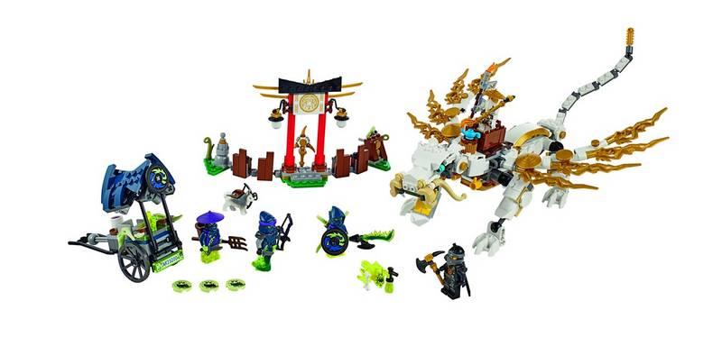 Zestawy Lego Ninjago Ninjago 70734 Smok Mistrza Wu Eukasapl