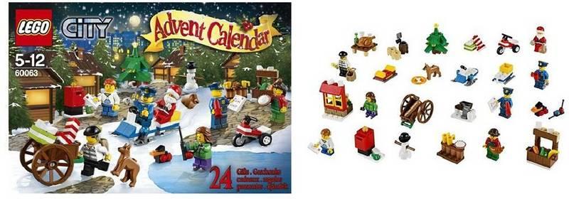 lego kalendar 2014 Stavebnice LEGO® CITY® 60063 Adventní kalendář 2014 | KASA.cz lego kalendar 2014