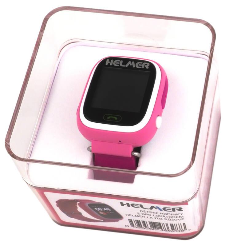 22d64d48f ... Chytré hodinky Helmer LK 703 dětské (Helmer LK 703 P) růžový · Vedlejší  obrázek · Vedlejší obrázek 1 ...
