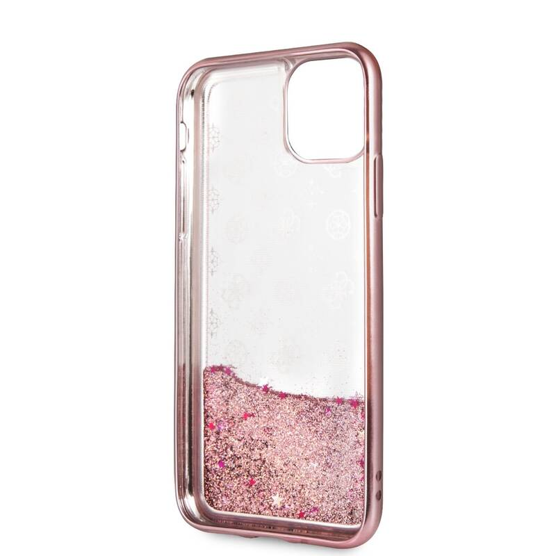 Kryt na mobil Guess 4G Peony Glitter pro Apple iPhone 11 Pro