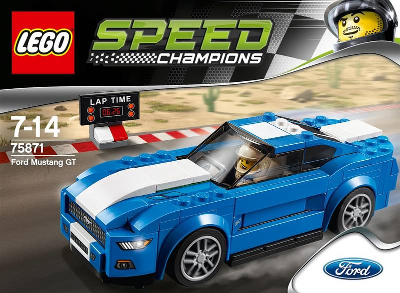 ... LEGO® SPEED CHAMPIONS® 75871 Ford Mustang GT · Vedlejší obrázek ·  Vedlejší obrázek 02 ... fd3512cc0b