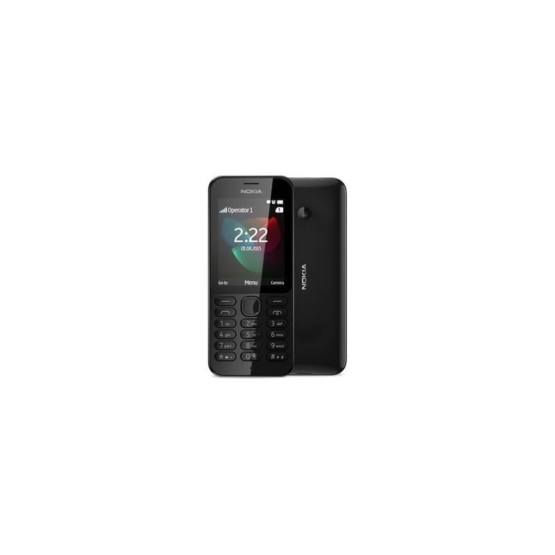 Mobilný telefón Nokia 222 Dual SIM (A00026337) čierny   HEJ sk