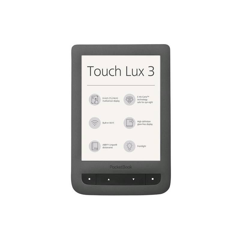 Obrázok Čítačka kníh Pocket Book 626 Touch Lux 3 sivá
