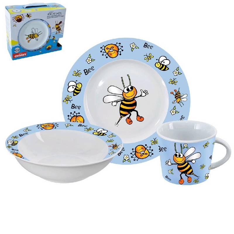 Zestaw Obiadowy Dla Dzieci Orion Pszczółka 3 Części Eukasapl