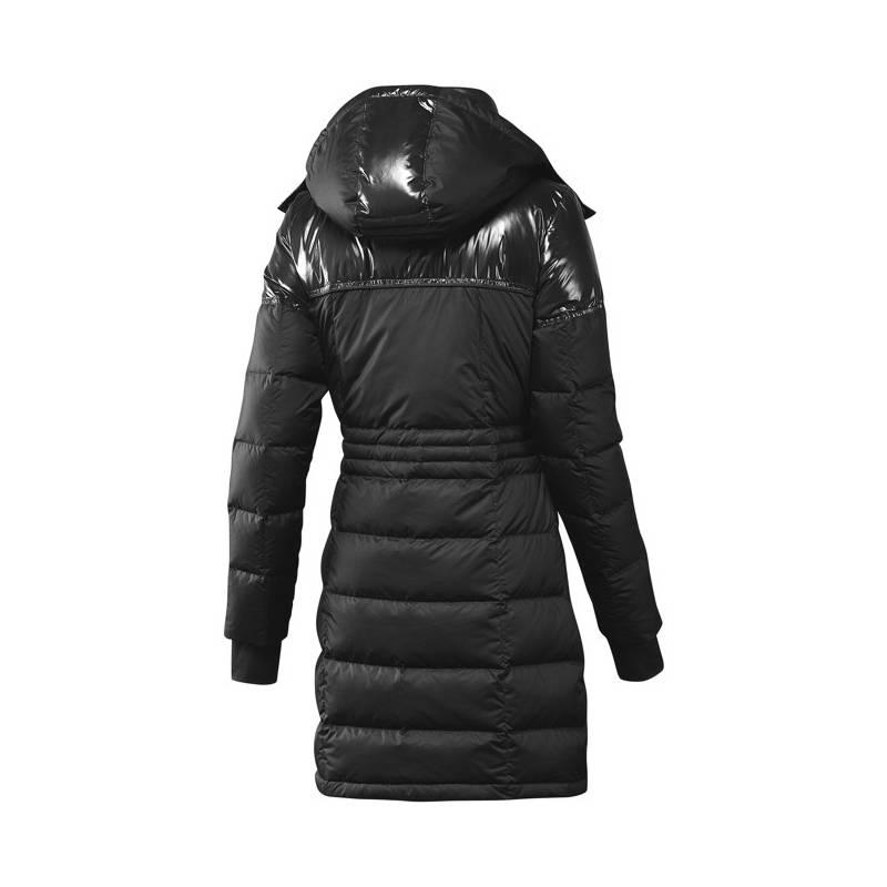 Kabát dámský ADIDAS J Lgt Down Coat BLACK  38  1619aa9092