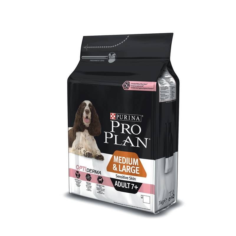 granule purina pro plan medium large adult 7 sensitive skin 3 kg. Black Bedroom Furniture Sets. Home Design Ideas