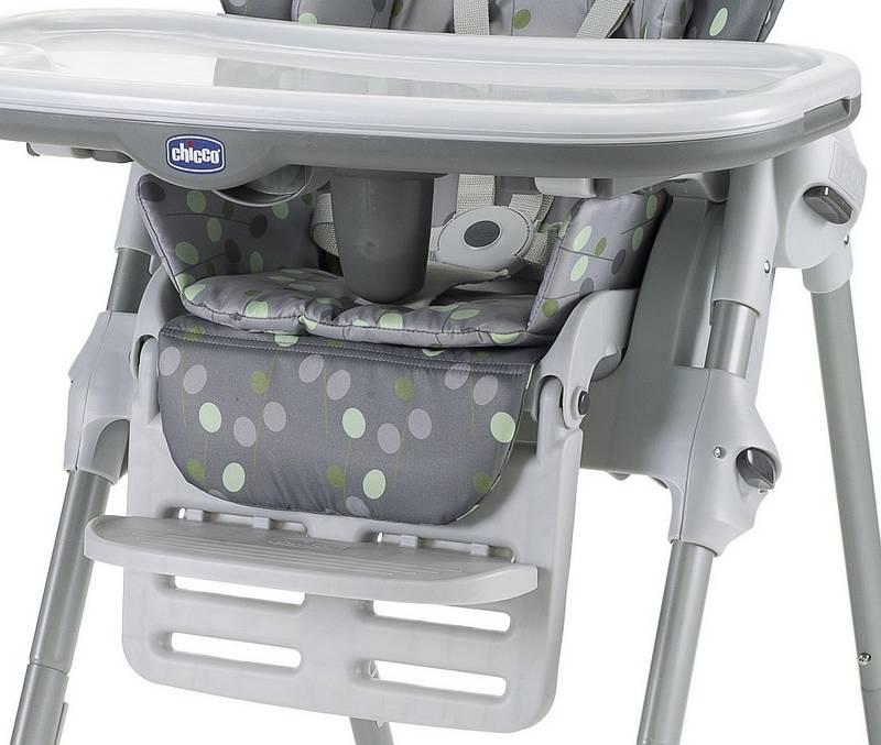 Jedálenská stolička Chicco POLLY NEW 2v1 marty sivá | HEJ sk