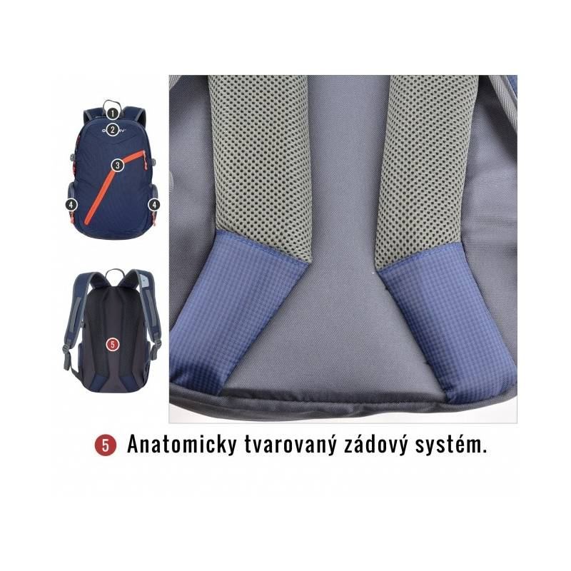 1fe34fcbc4141 Plecak Husky Nexy 22L tm. modrý | EUKASA.pl