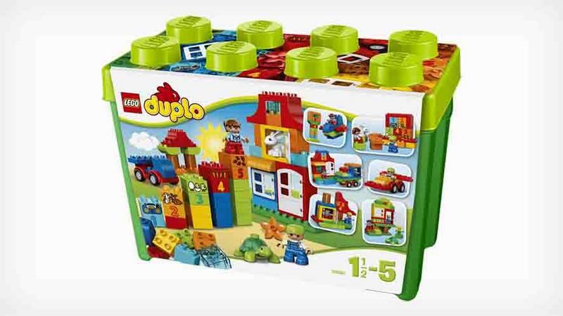 Zestawy Lego Duplo Duplo 10580 Pudełko Pełne Zabawy Eukasapl