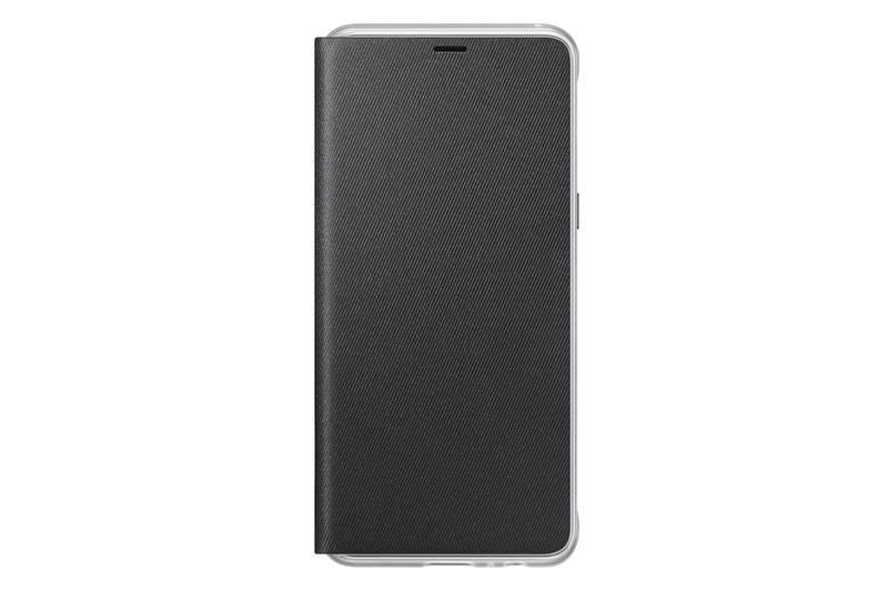 9c351afa74 Pokrowiec na telefon Samsung Neon flip pro Galaxy A8 2018 (EF-FA530P) (EF-FA530PBEGWW)  Czarne