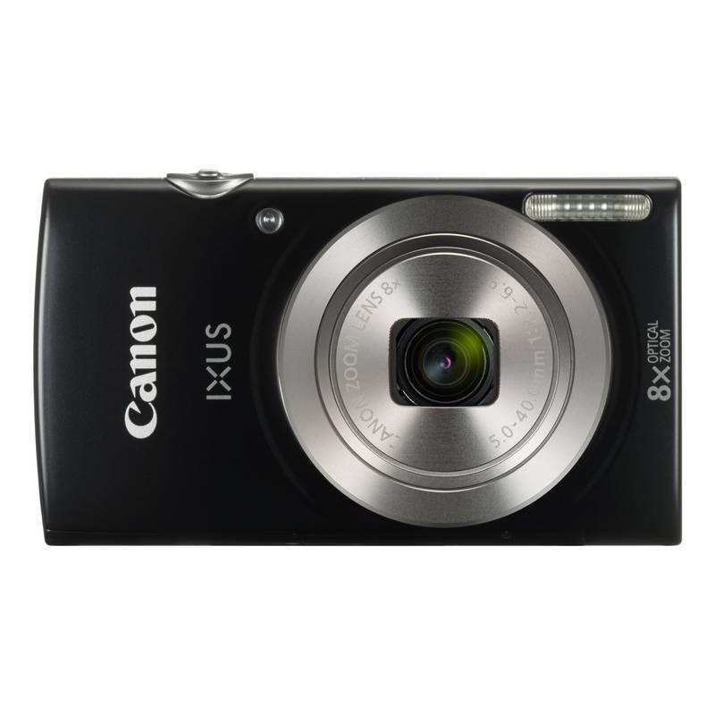 Obrázok Canon IXUS 185 černý Essential Kit (1803C010)