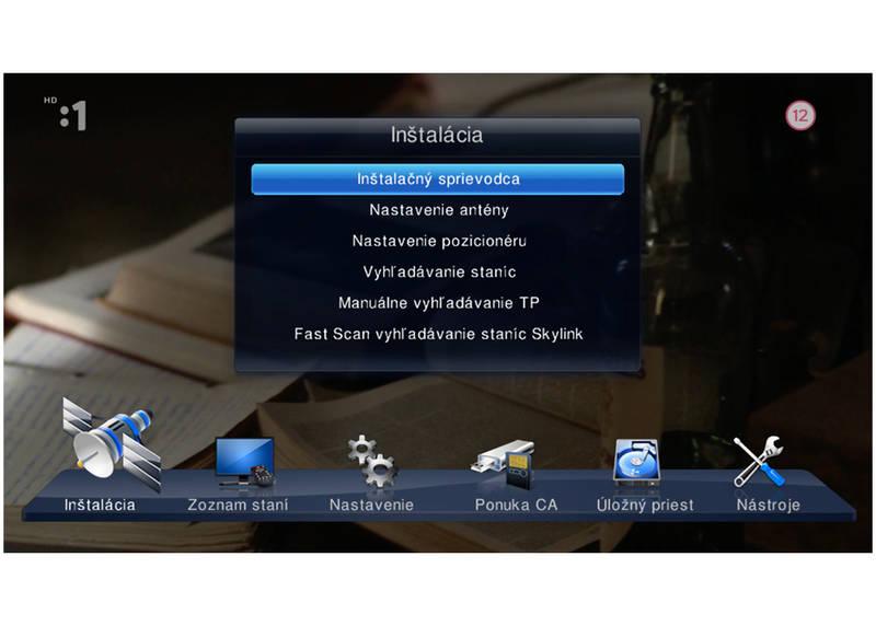 75b5fd5a1 Satelitný prijímač AB Cryptobox Smart HD (ABSMART) čierny   HEJ.sk