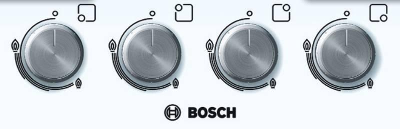 Płyta gazowa Bosch PPP612B21E Biała  EUKASA pl -> Plyta Gazowa Do Zabudowy Franke