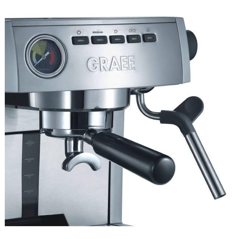 espresso graef es 85 cm 80 st brn nerez. Black Bedroom Furniture Sets. Home Design Ideas