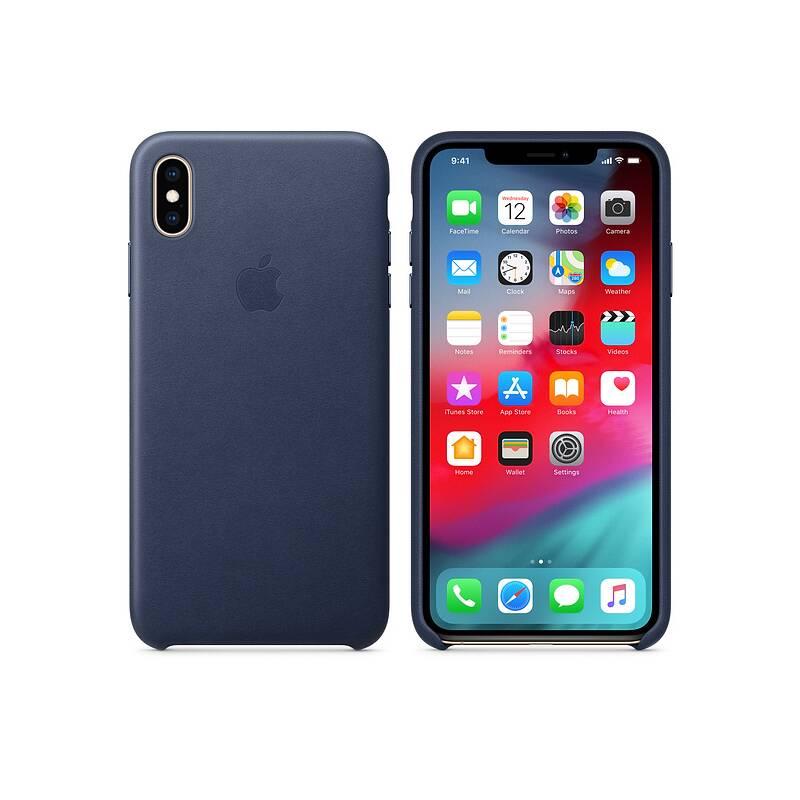 ... Kryt na mobil Apple Leather Case pro iPhone Xs Max - půlnočně modrý  (MRWU2ZM  · Vedlejší obrázek ... 5e7eb80ff09