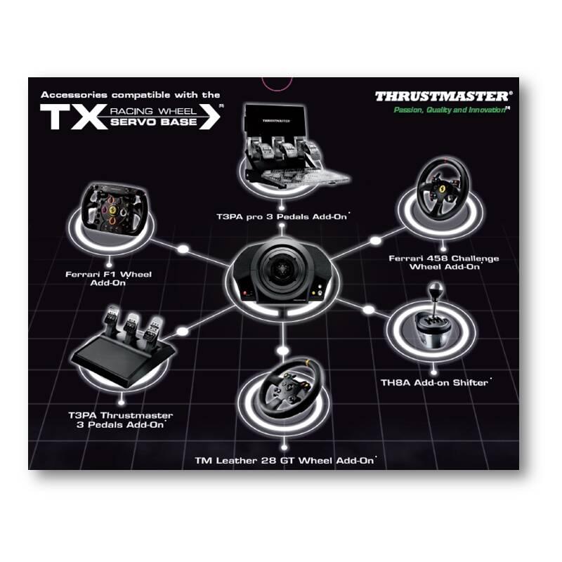 volant thrustmaster tx ferrari 458 italia pro xbox one one x one s pc. Black Bedroom Furniture Sets. Home Design Ideas