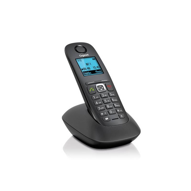 telefon domowy siemens gigaset model a540 a540 czarny. Black Bedroom Furniture Sets. Home Design Ideas