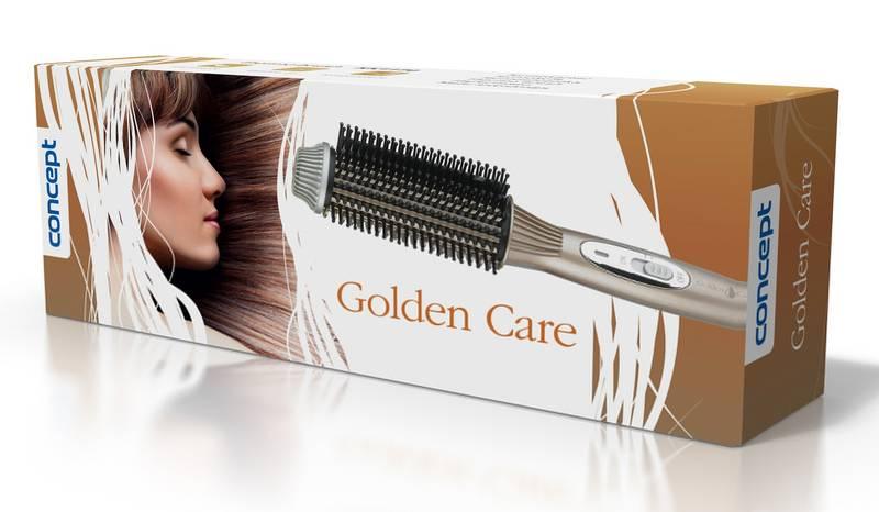 Kefa na vlasy Concept Golden Care KK-1170 zlatá  1f3e8b8b604