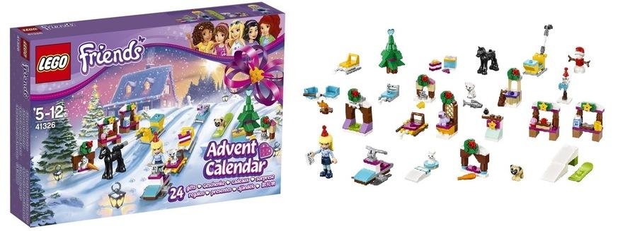 Zestawy Lego Friends Friends 41326 Kalendarz Adwentowy Eukasapl
