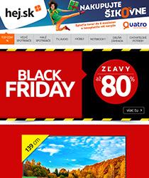 TOP TV a ZĽAVY až 80 % v BLACK FRIDAY volajú >