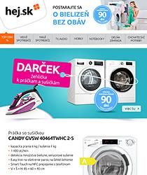 Žehlička ako DARČEK k práčkam a sušičkám tu >>