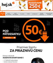 Fíha, produkty pod 50 €? Nakúp LACNO>>