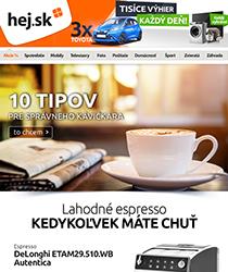 Obľúbené espresso DeLonghi so zľavou až 41 %
