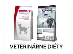 Špeciálne krmivá pre psy