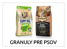 Granuly pre psy