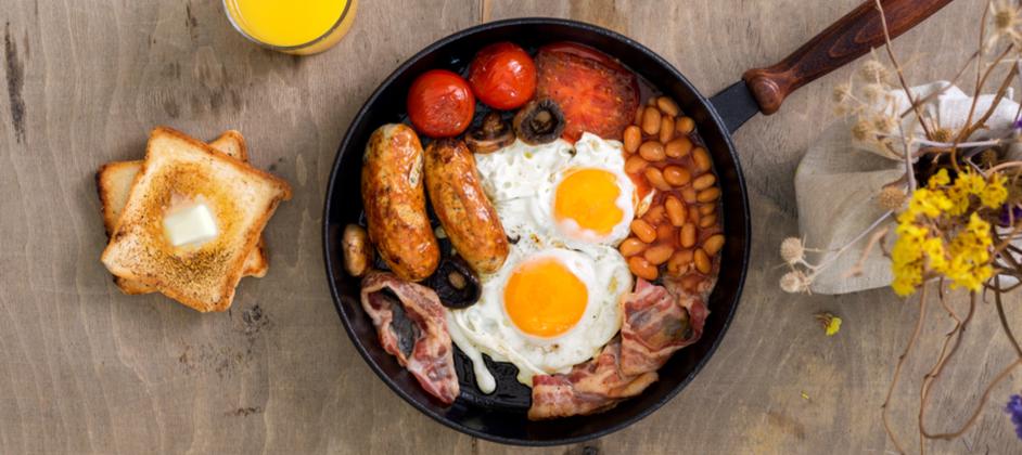 Ako na anglické raňajky