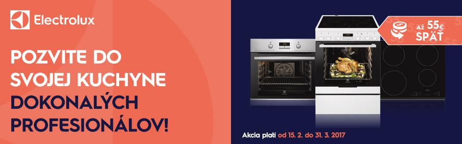 Za varenie s Electroluxom naspäť až 55 €!  290cfa37e75