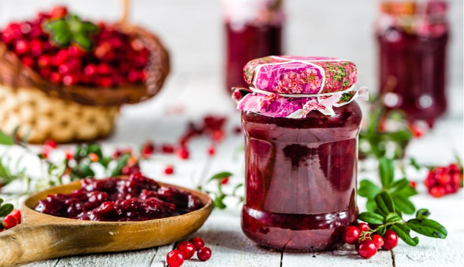 Domáci brusnicový džem