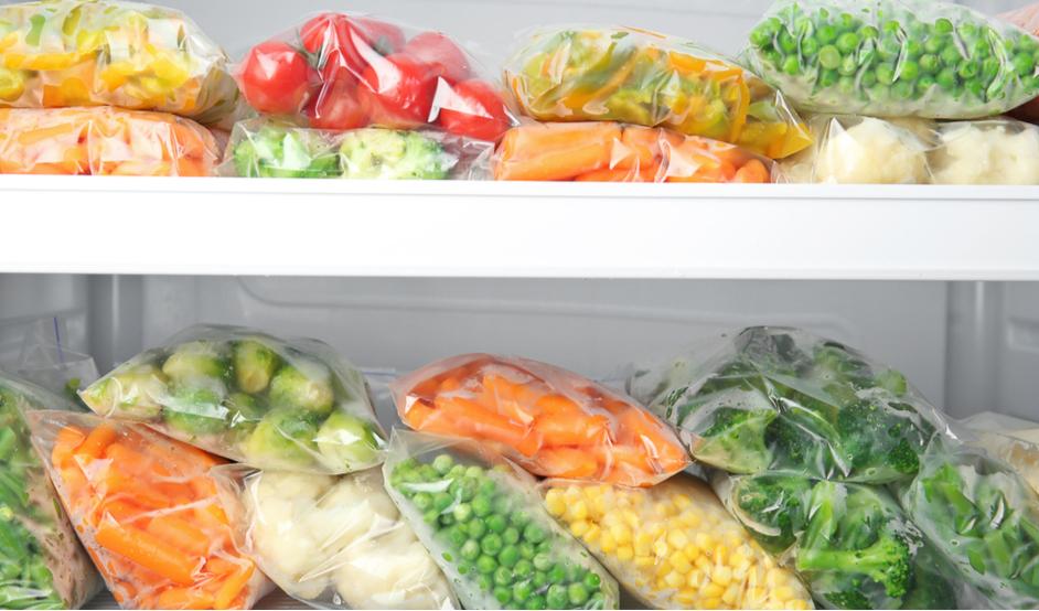 Mrazená zelenina