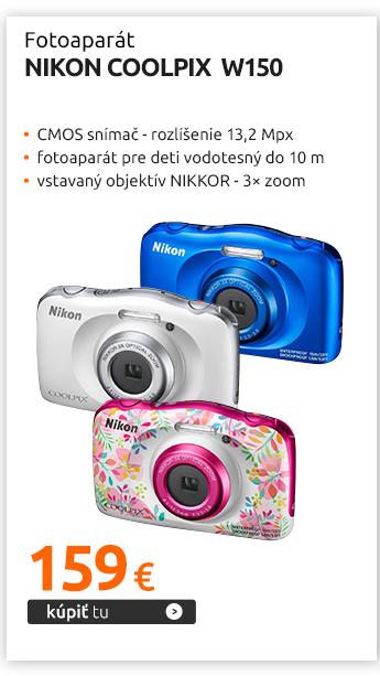 Fotoaparát Nikon Coolpix W150
