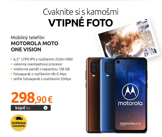 Mobilný telefón Motorola Moto One Vision