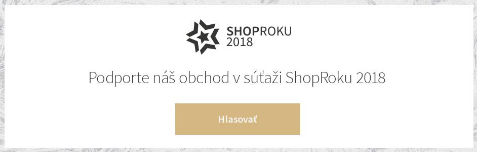 Anketa ShopRoku 2018 alebo zvoľte hviezdu medzi e-shopmi! 0785573e415