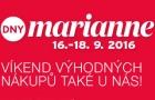 Zúčastněte se s námi Dnů Marianne 2016